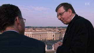 Video «Neuer Wind im Vatikan? Drei Schweizer im Zentrum der Weltkirche» abspielen