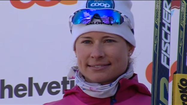 Video «Langlauf: 45. Engadin Skimarathon» abspielen