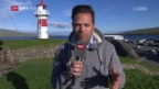 Video «Die Nati ist auf den Färöer-Inseln angekommen» abspielen