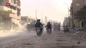 Video «FOKUS: Die Stadt Mossul nach dem Krieg» abspielen