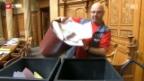 Video «Tonnenweise Abfall im Bundeshaus» abspielen
