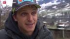 Video «Skicross-Profi Mike Schmid tritt zurück» abspielen