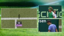Link öffnet eine Lightbox. Video Erst Schiri-Korrektur, dann Stoppball: Federer hat alles im Griff abspielen