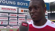 Video «Fussball: Yvon Mvogo zu seinem Fehler» abspielen