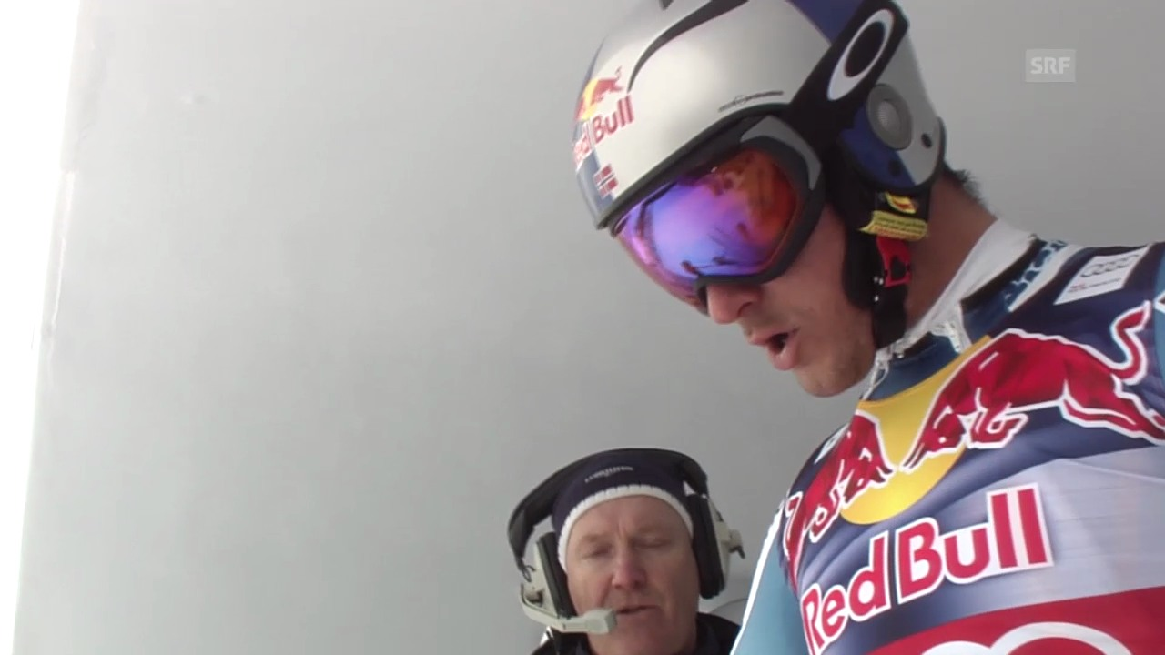 Ski: Abfahrt Kitzbühel 2014, Fahrt von Aksel Svindal