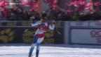 Video «Ski alpin: Weltcup-Abfahrt der Frauen in St. Moritz» abspielen