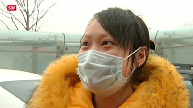 Video «Peking wird den Smog nicht los» abspielen