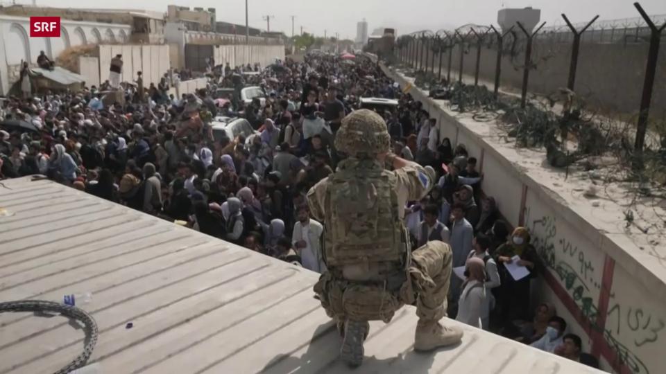 Caos a l'eroport da Kabul (20 d'avust)
