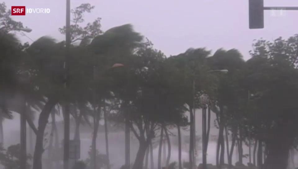 Zerstörerische Taifune