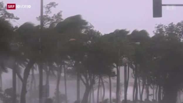 Video «Zerstörerische Taifune» abspielen