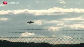 Video «Bald Zivilflugzeuge auf Militärflugplatz Payerne» abspielen