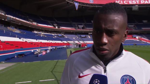 Video «PSG-Spieler Matuidi: «Wir wollen mehr als die Viertelfinals»» abspielen