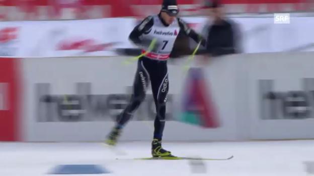 Video «Langlauf: Sprint-Qualifikation mit Dario Cologna» abspielen