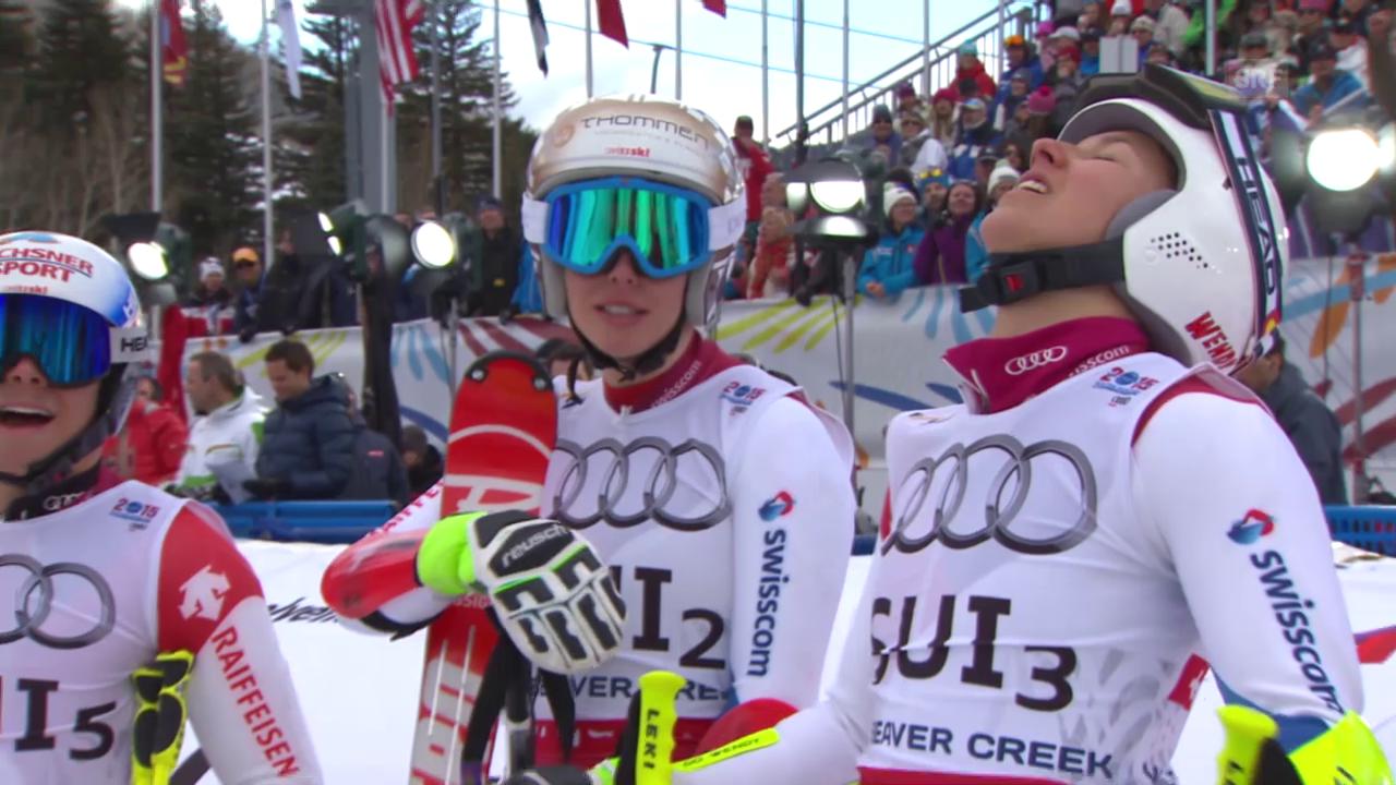 Ski-WM Vail/Beaver Creek: Zusammenfassung Team-Event