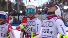 Video «Ski-WM Vail/Beaver Creek: Zusammenfassung Team-Event» abspielen