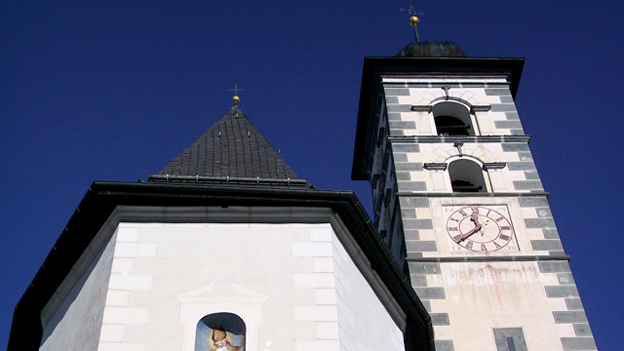 Glockengeläut der Kirche St. Martin, Lumbrein
