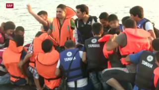 Video «FOKUS: Flüchtlingsdrama im Ferienparadies» abspielen