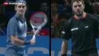 Video «Abschluss der Tennis-Saison» abspielen