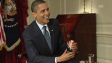 Video «Auch Obama erhält eine «Matrjoschka»» abspielen