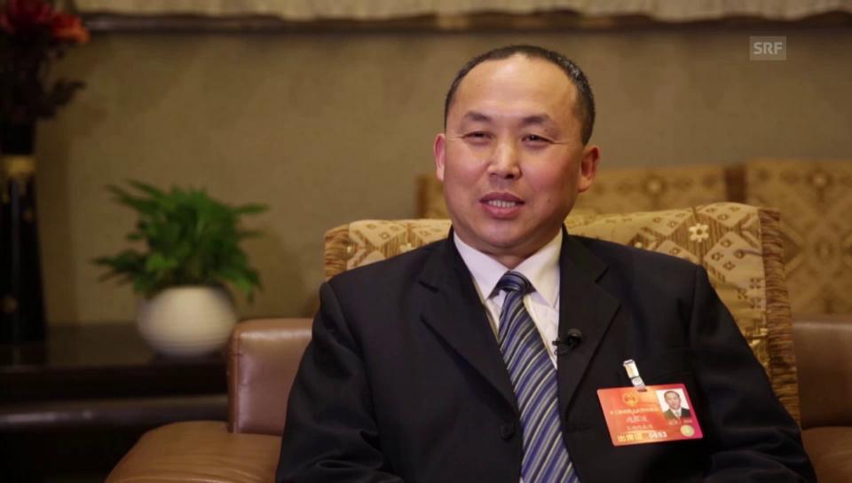 Zhou Zhenbo, der chinesische Politiker mit Charisma