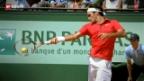 Video «Federer nahe am grossen Triumph» abspielen