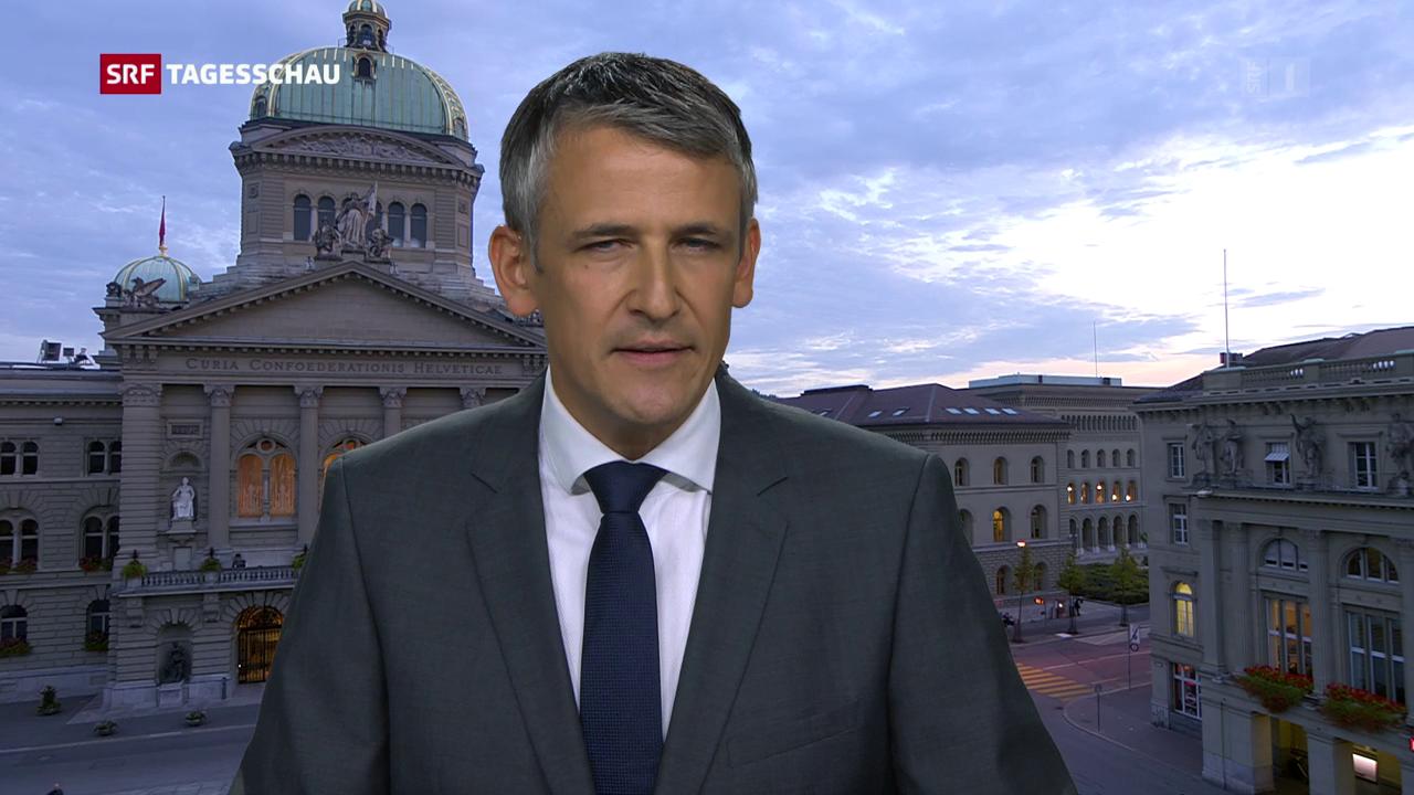Christoph Nufer zur EU-Politk des Bundesrats