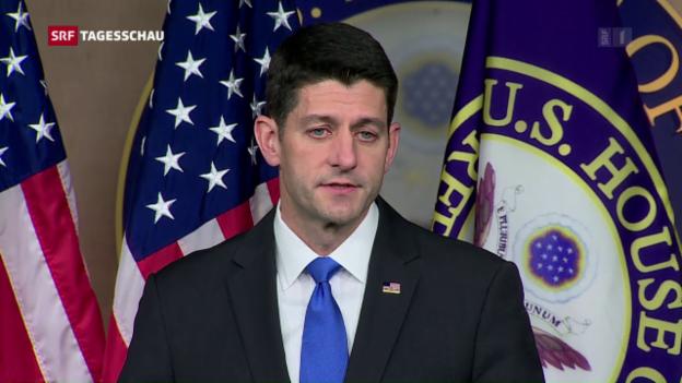 Video «Annäherung der Republikaner und Trump» abspielen