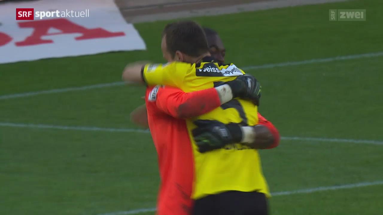 Fussball: Super League, Young Boys - Basel