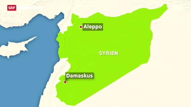Schwere Explosion bei Universität in Aleppo