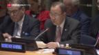 Video «Ban Ki Moon entschuldigt sich» abspielen