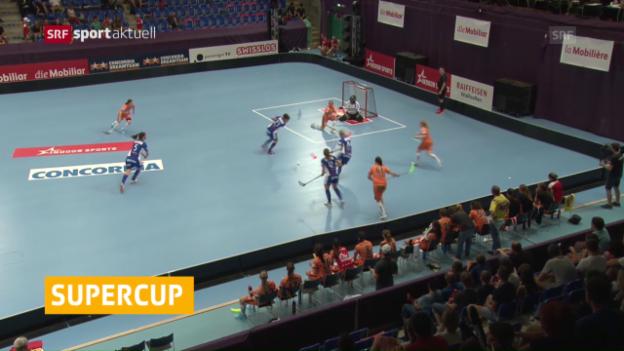 Video «Supercup: Köniz und Dietlikon triumphieren» abspielen