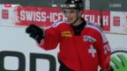 Video «Eishockey: Testspiel Schweiz - Deutschland» abspielen