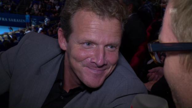 Video «EHCB-Coach Kevin Schläpfer tankt Energie in Basel» abspielen