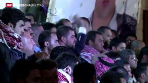 Video «Jordanien rächt Pilotenmord» abspielen