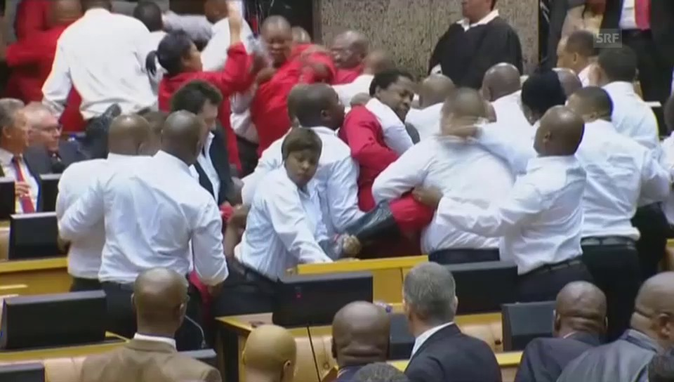 Südafrikas Opposition boxt sich durchs Parlament
