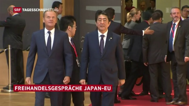 Video «Freihandelsabkommen EU-Japan in Sicht» abspielen