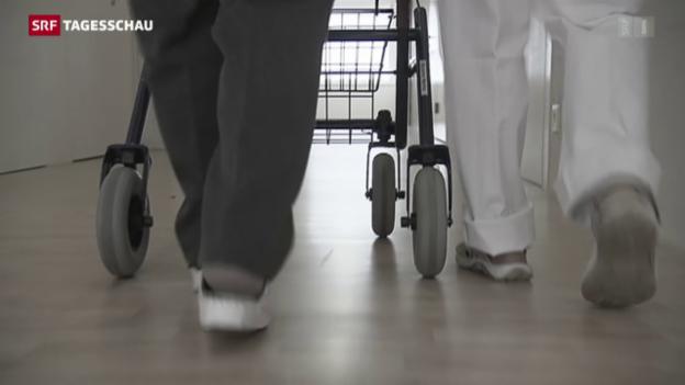 Video «Zu Hause alt werden - eine Kostenfrage» abspielen