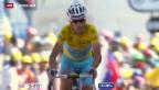 Video «Nibali gewinnt die 13. Etappe der Tour de France» abspielen