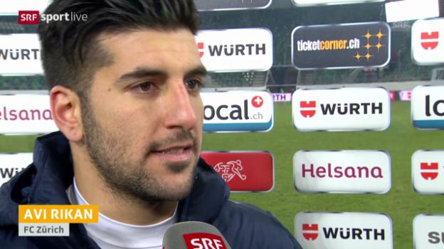 Video «Fussball: Interview mit Avi Rikan (englisch)» abspielen
