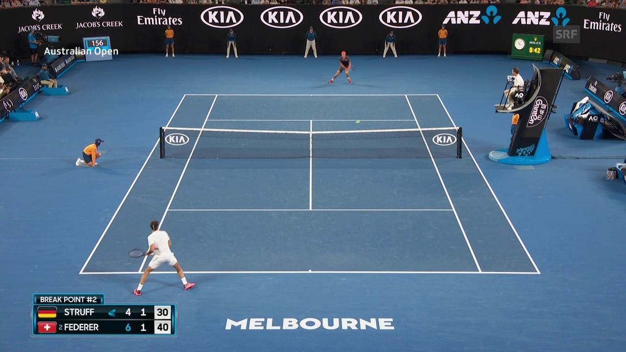 Live-Highlights Federer - Struff