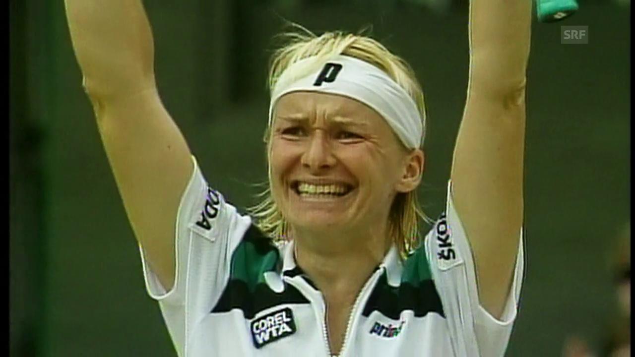 Novotnas Karriere: Wimbledon 1998 als grösstes Highlight