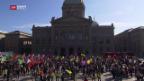 Video «Veranstalter verurteilen Störenfriede» abspielen