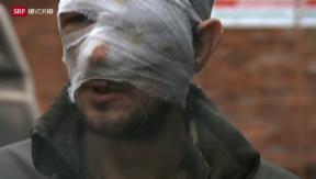 Video «Ukraine: Weitere Eskalation in Debaltsewo» abspielen