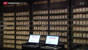 Video «IKRK-Suchdienst digitalisiert Karteikarten aus Erstem Weltkrieg» abspielen