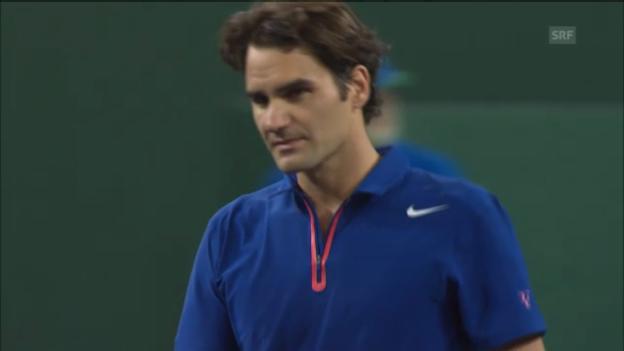 Video «ATP Indian Wells: Highlights Federer - Nadal (unkommentiert)» abspielen