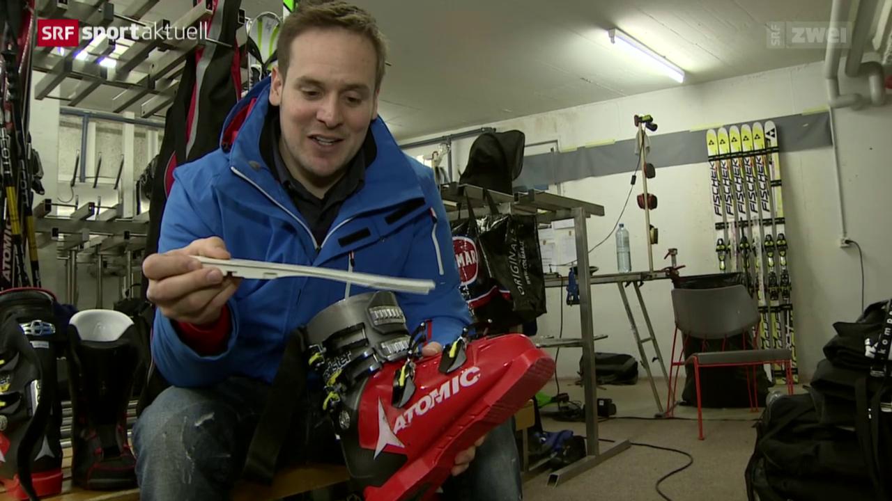 Ski alpin: Mit Daniel Albrecht in Wengen
