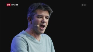 Video «FOKUS: Uber bläst heftiger Gegenwind entgegen» abspielen
