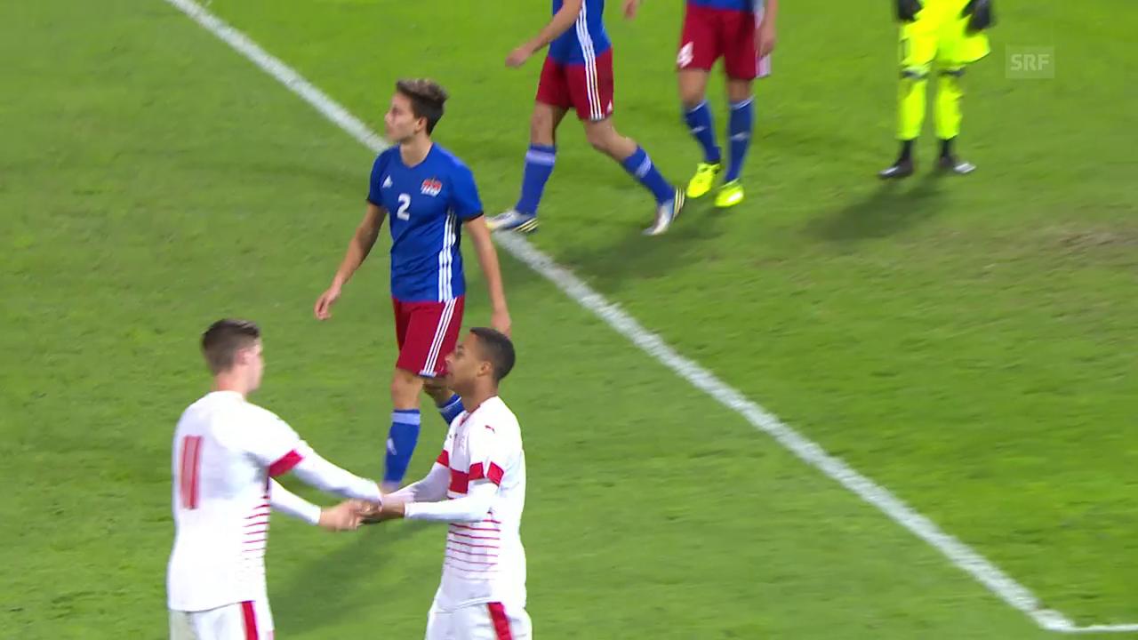 Spielmanns Doppelpack gegen Liechtenstein