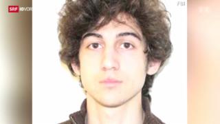Video «Boston-Bomber vor Gericht» abspielen
