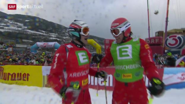 Video «Skicross: Weltcup in Kreischberg» abspielen